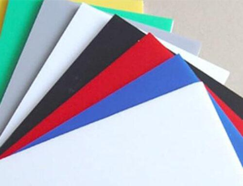 Foamex boards CNC cut to size